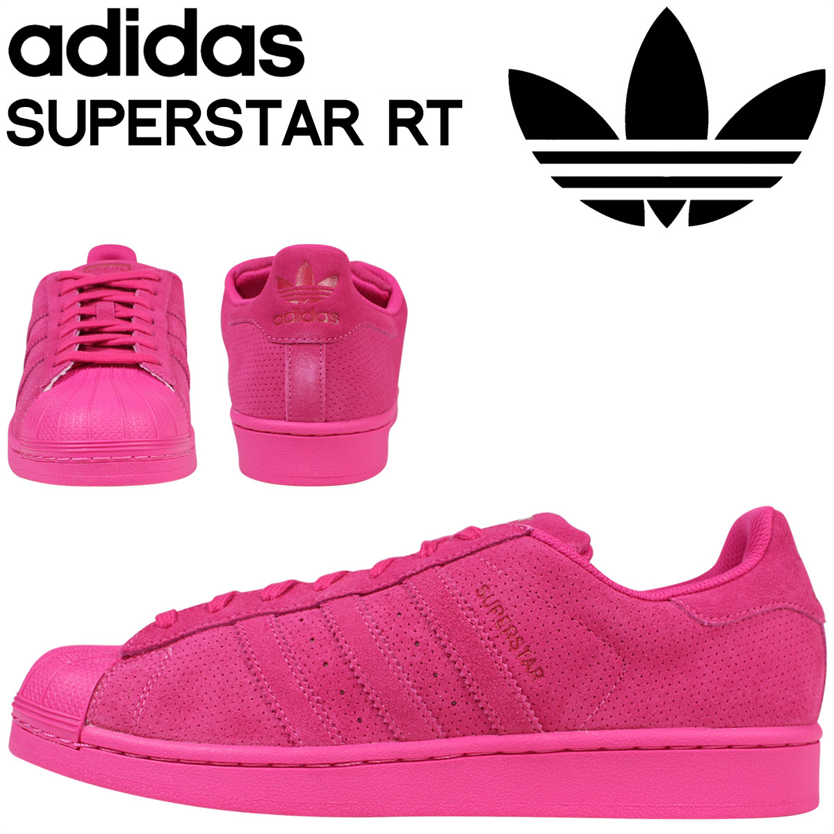 adidas Originals adidas originals superstar sneakers SUPERSTAR RT AQ4166 men\u0027s  shoes pink