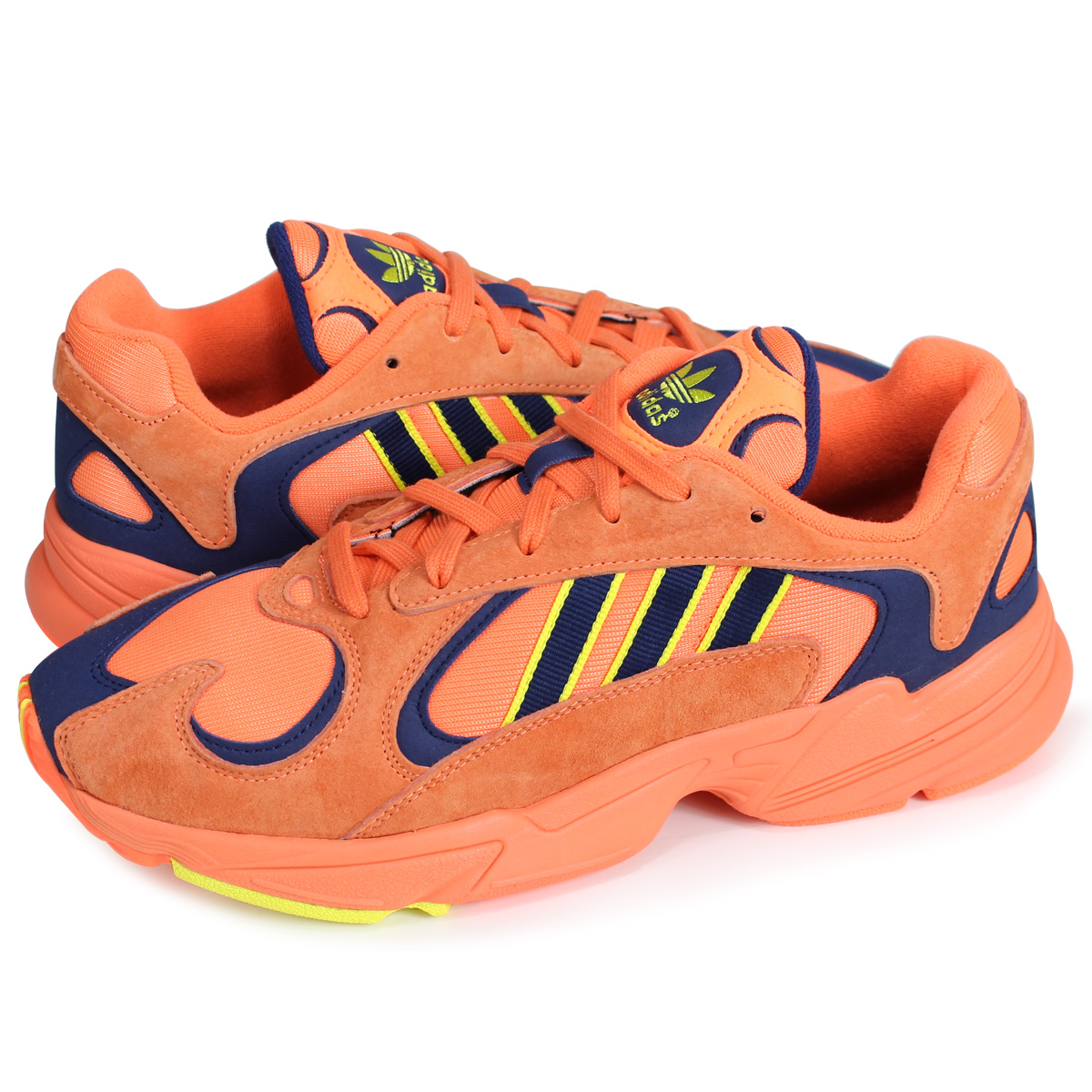 check out 81977 63993 adidas originals YUNG-1 Adidas originals sneakers young people 1 mens B37613  orange load planned Shinnyu load in reservation product 77 containing