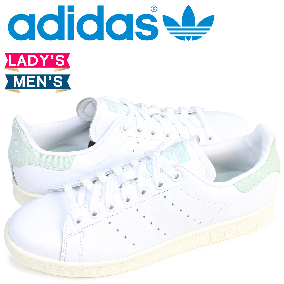 Whats up Sports | Rakuten Global Market: Adidas Stan Smith adidas originals sneakers STAN SMITH Lady's men BB5047 shoes white [7/21 Shinnyu load]