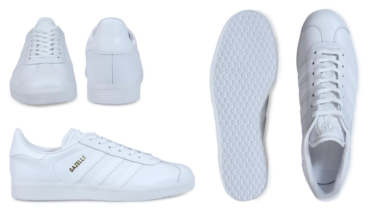adidas originals gazelle trainers in white bb5498 nz