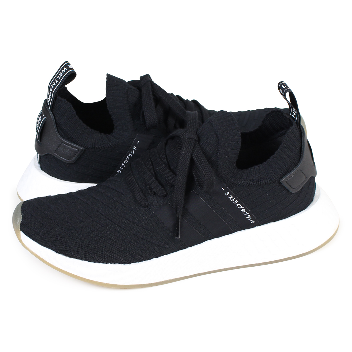 050fc4518 Whats up Sports  adidas originals NMD R1 PK Adidas sneakers nomad men  BY9696 shoes black  10 28 Shinnyu load