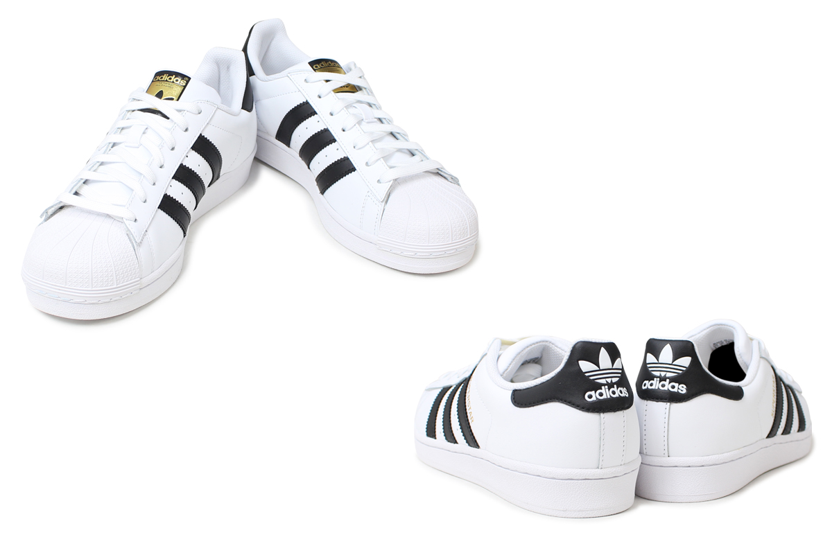 sports shoes 2c2d0 272b4 adidas Originals adidas originals superstar women sneakers Womens SUPERSTAR  W C77153 shoes white black