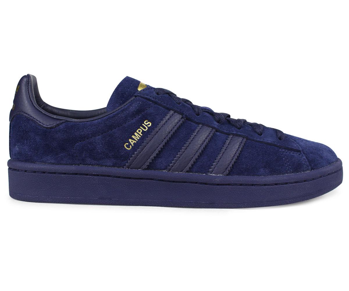 adidas Originals CAMPUS Adidas campus sneakers men gap Dis CQ2045 navy originals [load planned Shinnyu load in reservation product 118 containing]