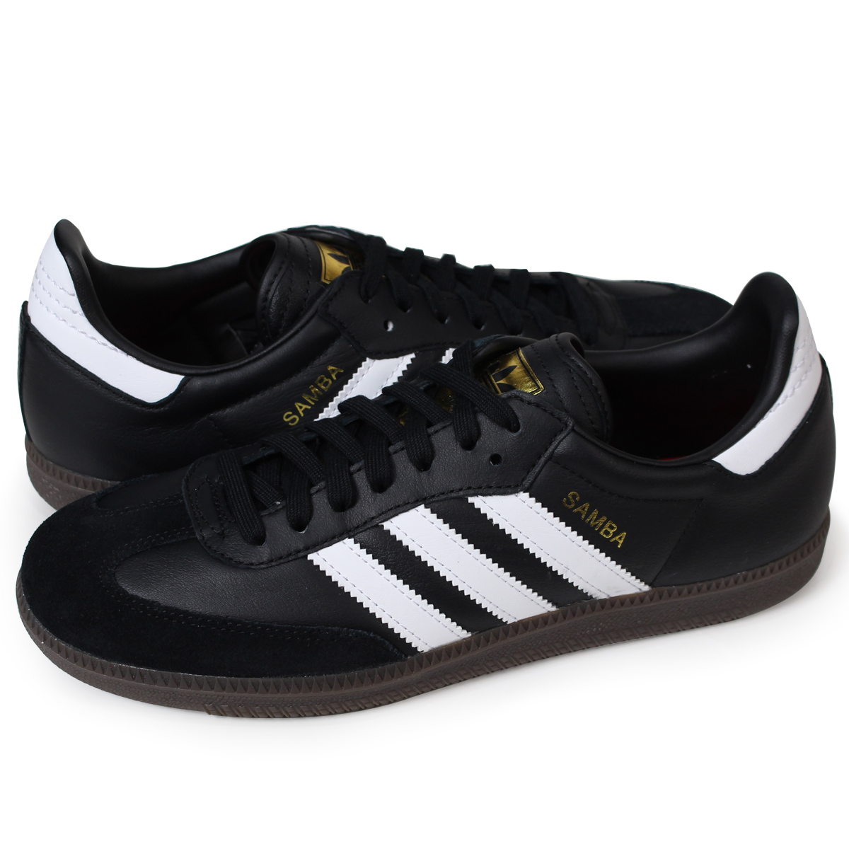 adidas Originals SAMBA FB Adidas samba sneakers men CQ2094 black originals [419 Shinnyu load] [184]