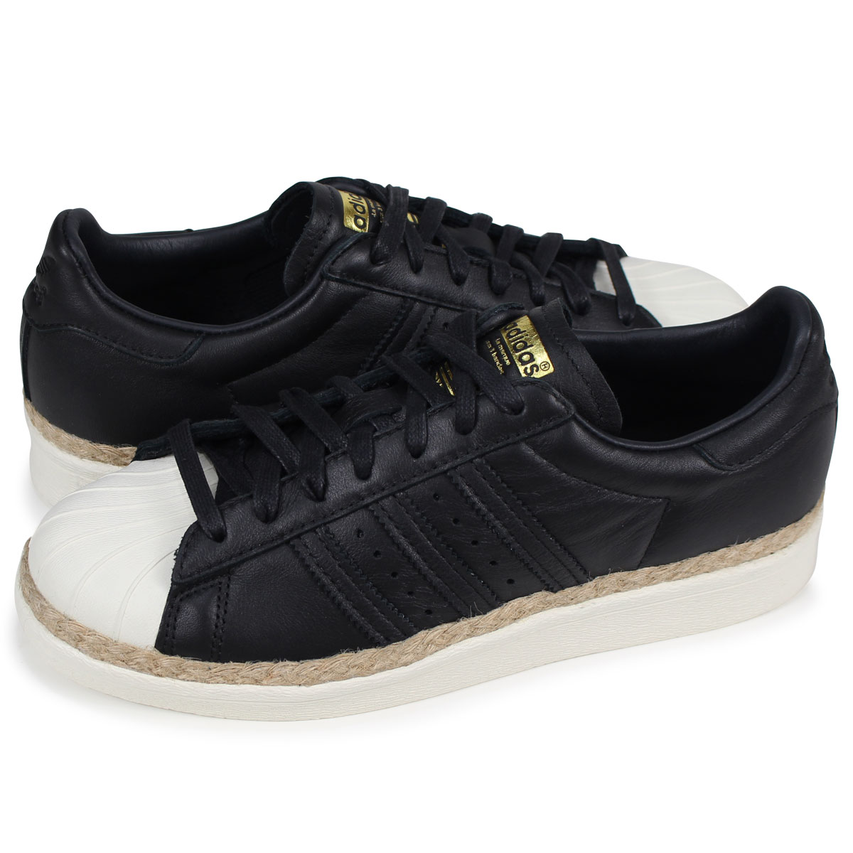 newest 3765e 948f0 adidas Originals SUPERSTAR NEW BOLD W superstar 80s Adidas originals Lady's  sneakers CQ2365 black