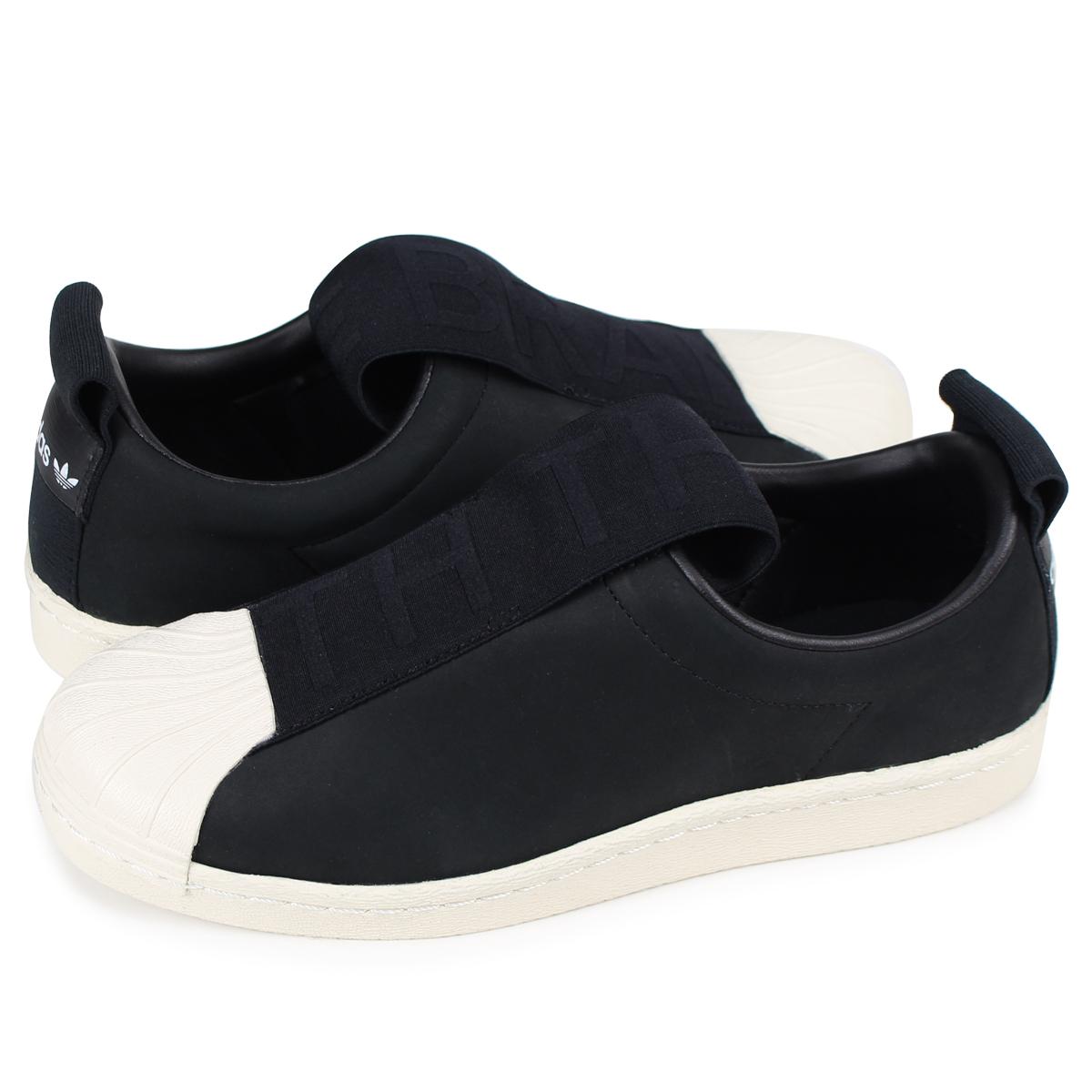 reputable site ada2b 121fd adidas Originals SUPERSTAR BW3S SLIPON W superstar Adidas Lady's slip-ons  sneakers CQ2517 black originals