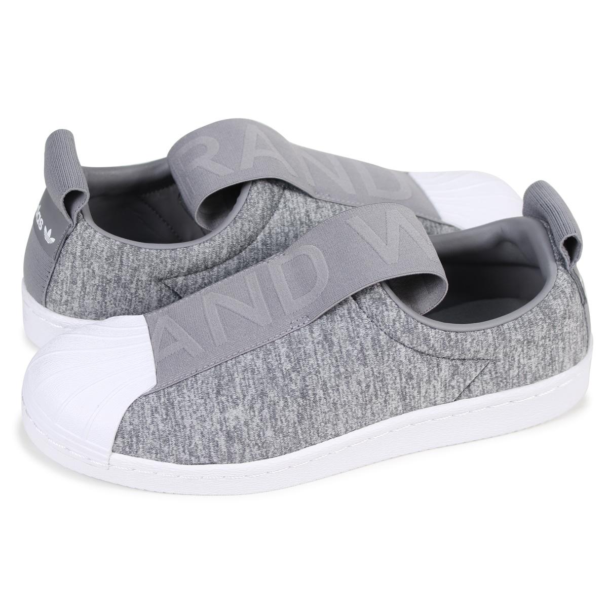 size 40 b4ad8 21ce3 adidas Originals SUPER STAR BW3S SLIP-ON W Adidas superstar Lady's sneakers  slip-ons CQ2520 gray originals
