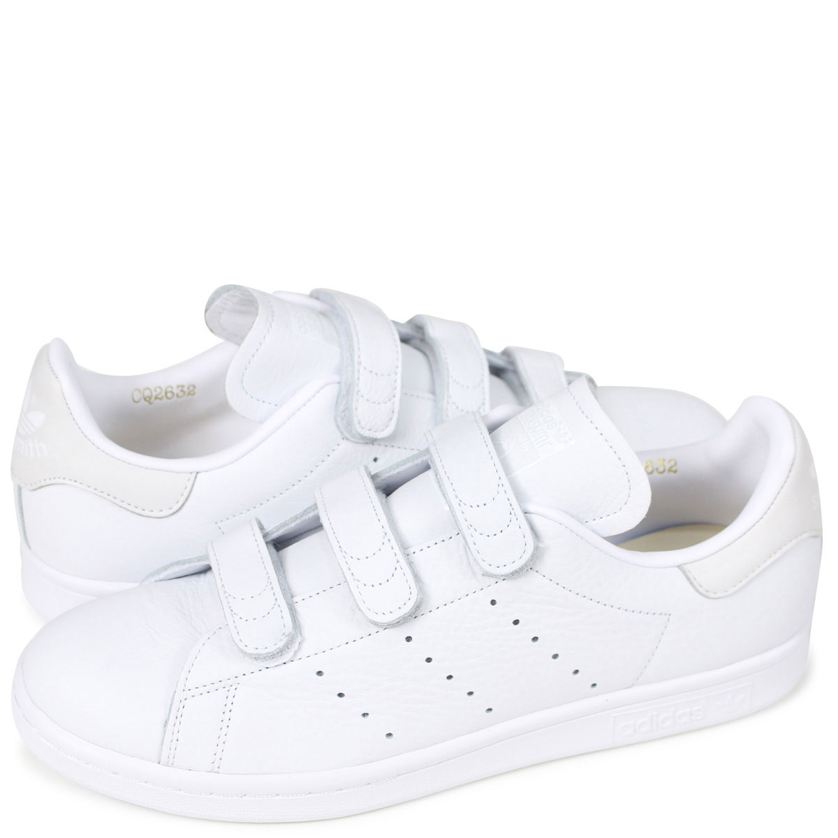 adidas Originals STAN SMITH CF Adidas Stan Smith Velcro sneakers men gap  Dis CQ2632 white originals