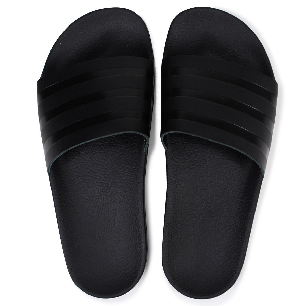 super popular 0f9a3 8f793 adidas Originals ADILETTE SLIDES アディダスアディレッタサンダルシャワーサンダルメンズ CQ3094 black  originals  4 19 Shinnyu load   184