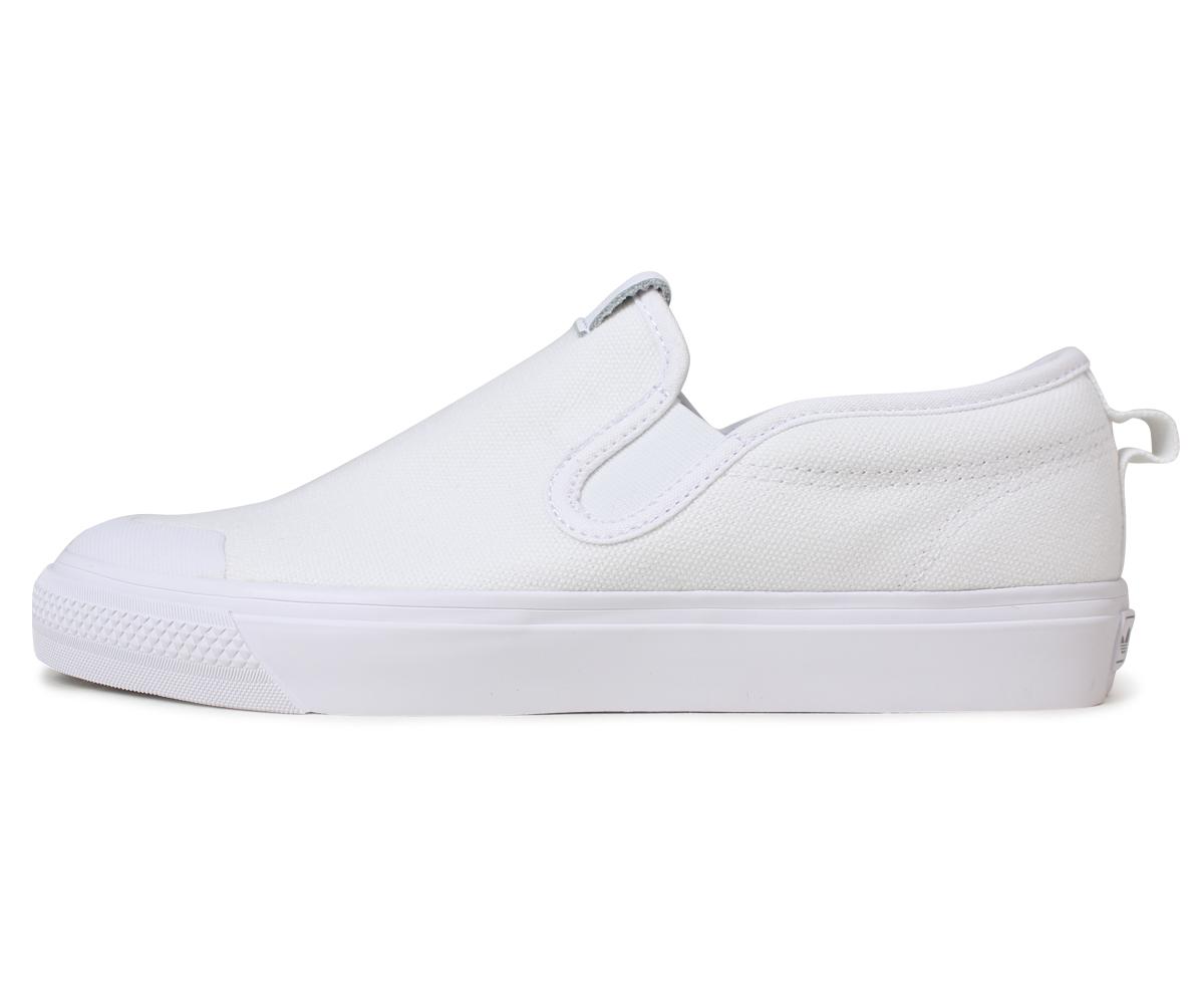 630fa0f1319b adidas Originals NIZZA SLIPON W Adidas originals Nitze that Dis slip-ons sneakers  white CQ3103  5 21 Shinnyu load