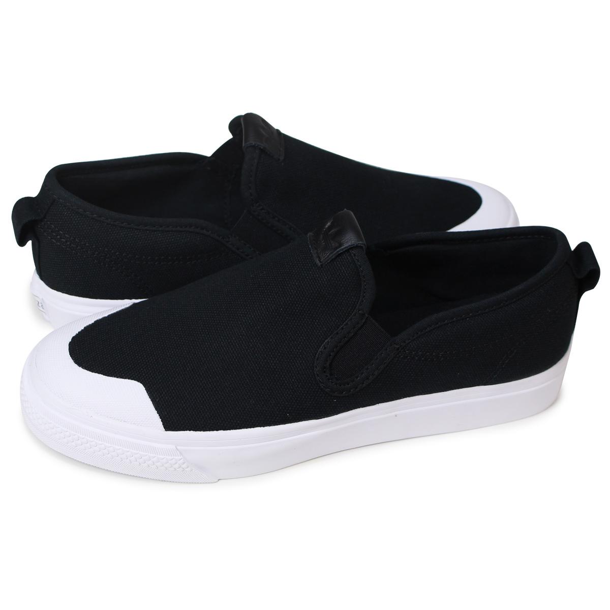 d00f4cdd60 adidas Originals NIZZA SLIPON W Adidas originals Nitze that Dis slip-ons  sneakers black CQ3104