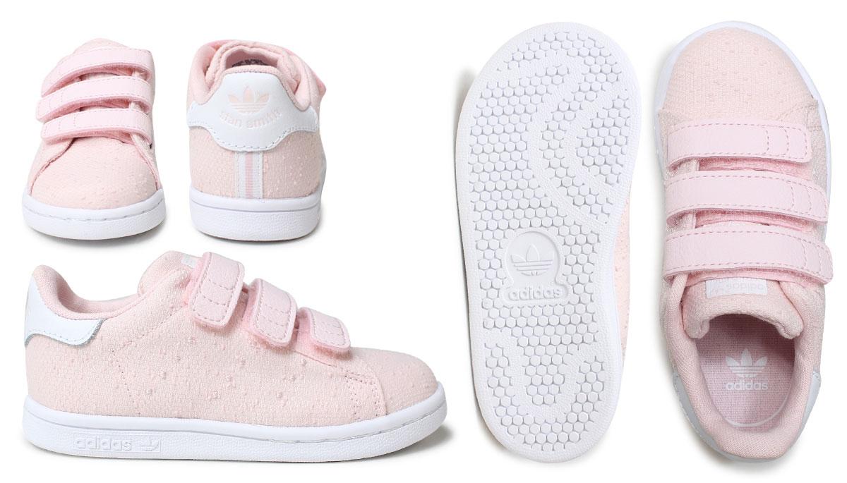 adidas stan smith kids pink