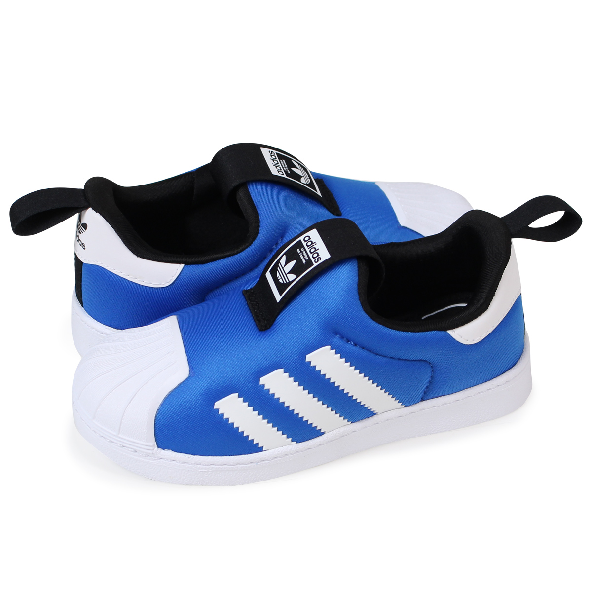 best service e1294 bf631 Adidas superstar kids baby adidas Originals sneakers SUPERSTAR 360 I S74740  child shoes denim [load planned Shinnyu load in reservation product 12/7 ...