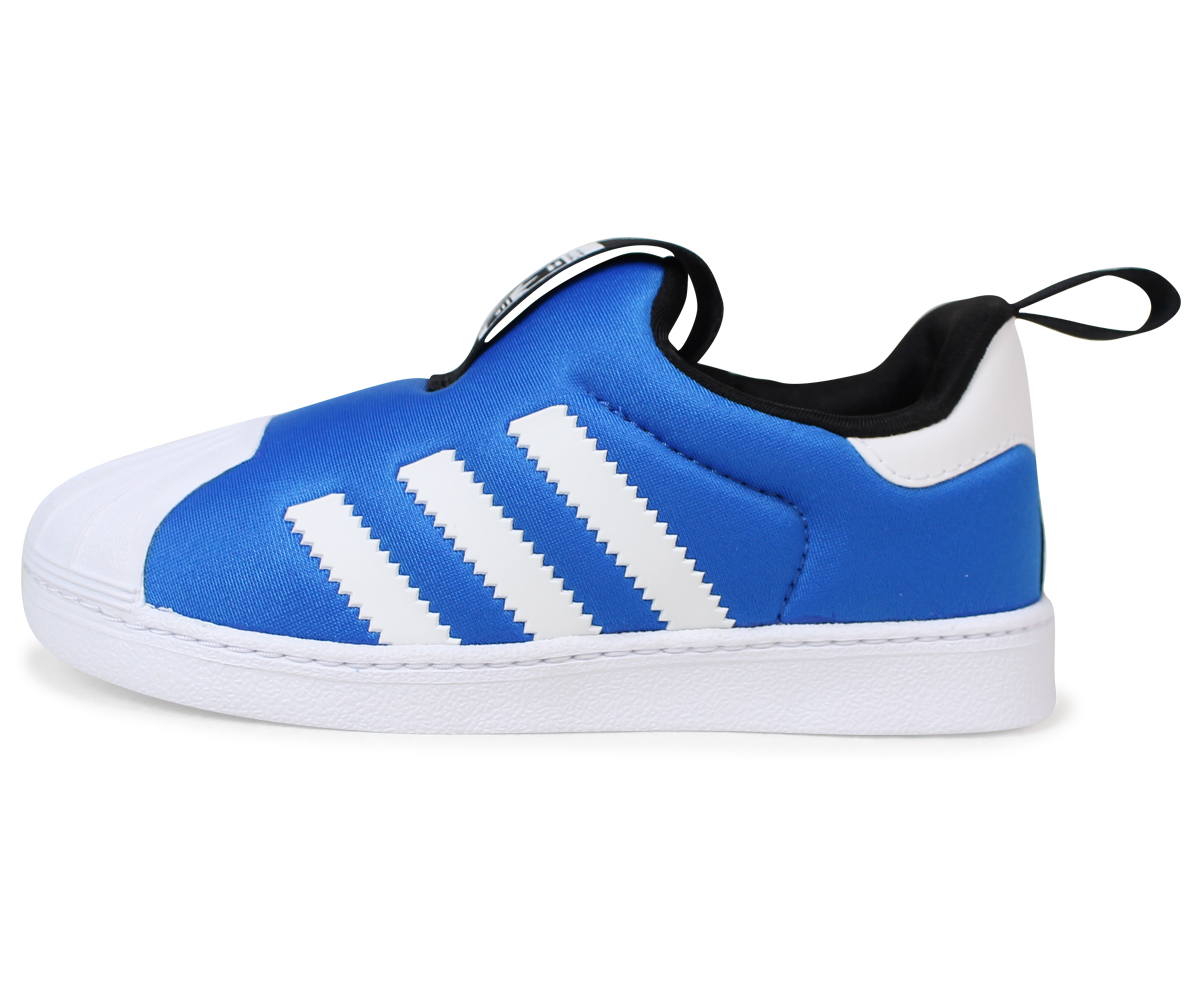 Adidas superstar kids baby adidas Originals sneakers SUPERSTAR 360 I S74740 child shoes denim [load planned Shinnyu load in reservation product 12/7 ...