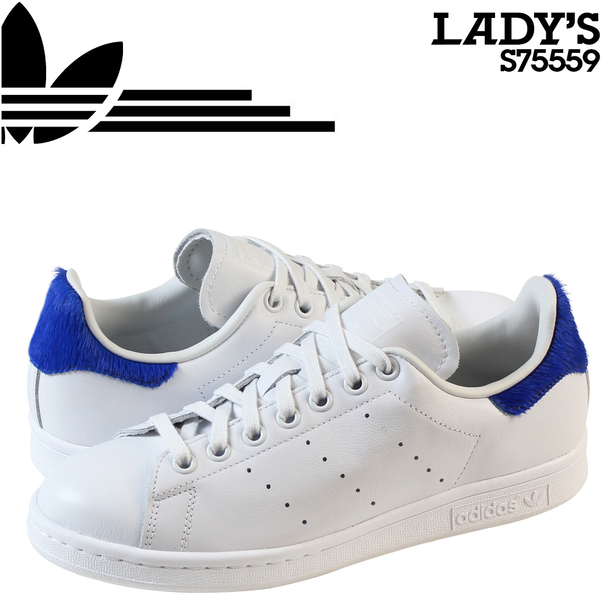 official photos 8dd89 d9583 adidas Originals adidas originals Stan Smith sneakers Womens STAN SMITH W  S75559 shoes white