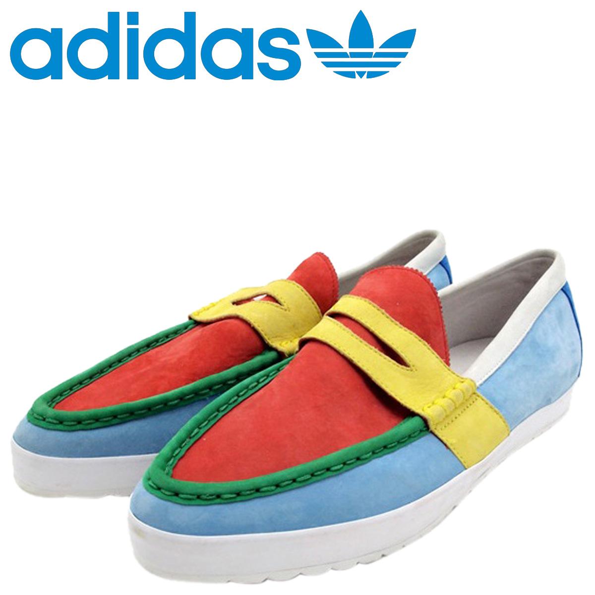 adidas Originals Adidas originals penny loafer Jeremy Scot OBYO JEREMY SCOTT PENNY LOAFER SLIM V22822 men gap Dis