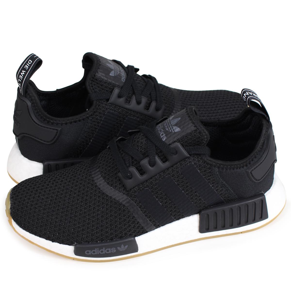 competitive price ed6c2 ccaea adidas Originals NMD R1 Adidas originals sneakers N M D nomad men B42200  black [7/7 Shinnyu load]