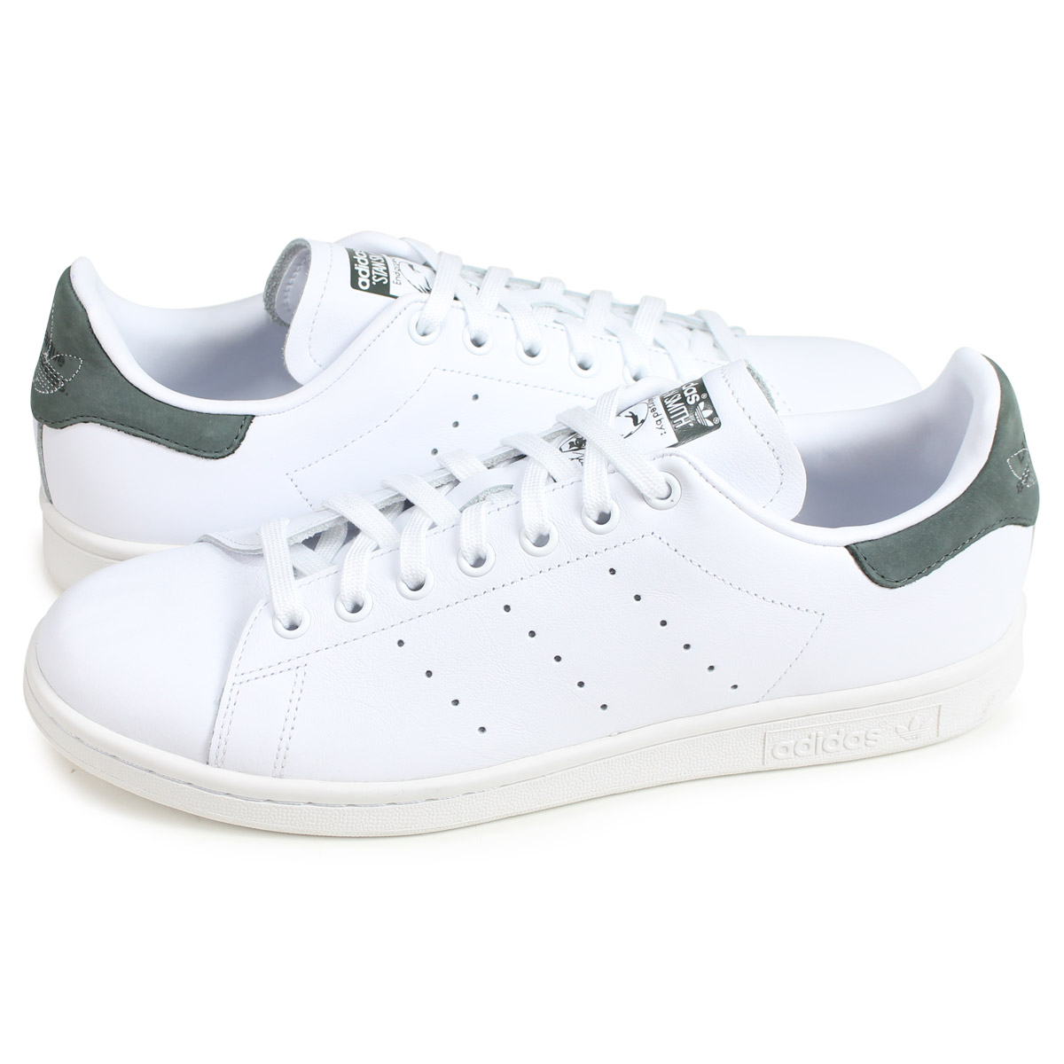 adidas Originals STAN SMITH Adidas originals Stan Smith sneakers men white BD7444 [load planned Shinnyu load in reservation product 228 containing]