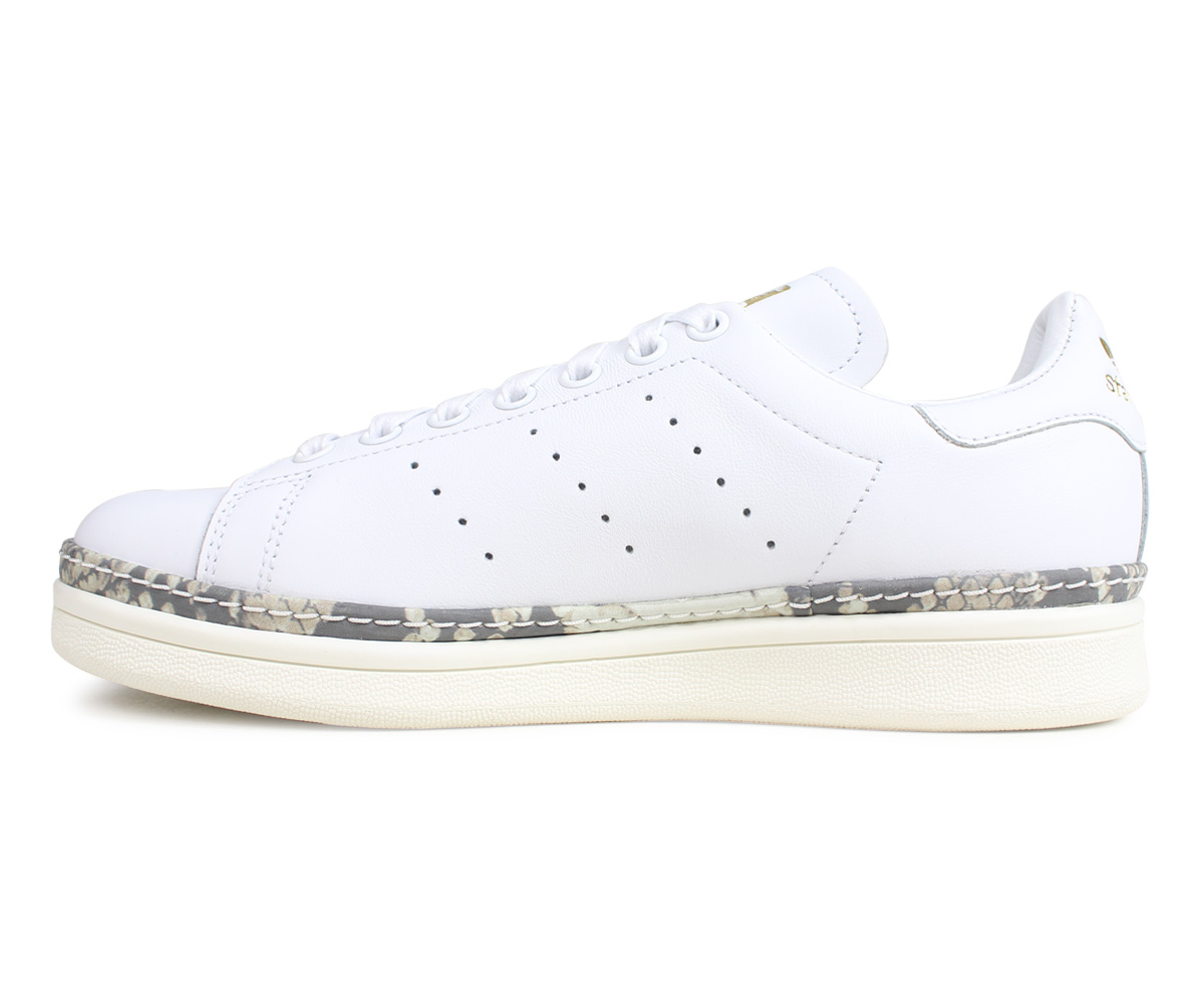 adidas Originals STAN SMITH NEW BOLD W Adidas originals Stan Smith sneakers Lady's white DB3348 [21 Shinnyu load]