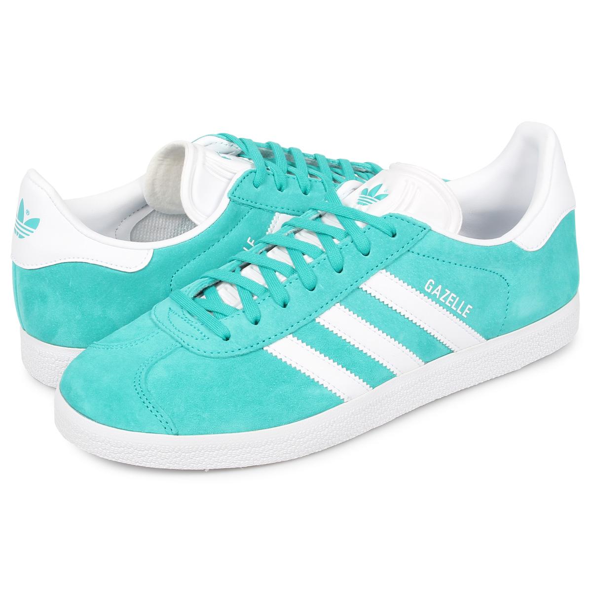 gazelle adidas turquoise