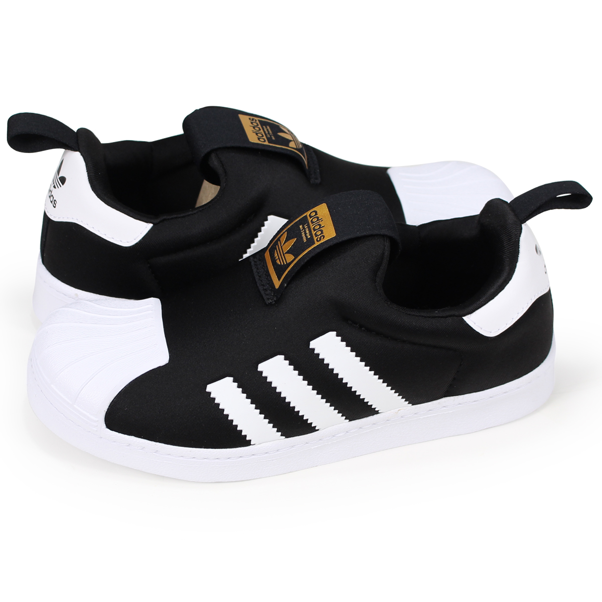 best sneakers b0ebb 6155b adidas Originals SUPERSTAR 360 Adidas originals superstar sneakers kids  black black S32130 [the 8/21 additional arrival]
