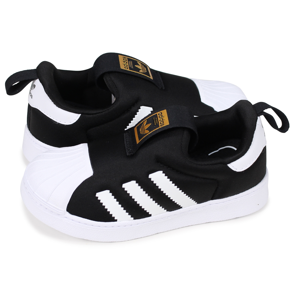 adidas Originals SUPERSTAR 360 I Adidas originals superstar kids baby  sneakers S82711 black  the 2 28 additional arrival  31ca66f2d35