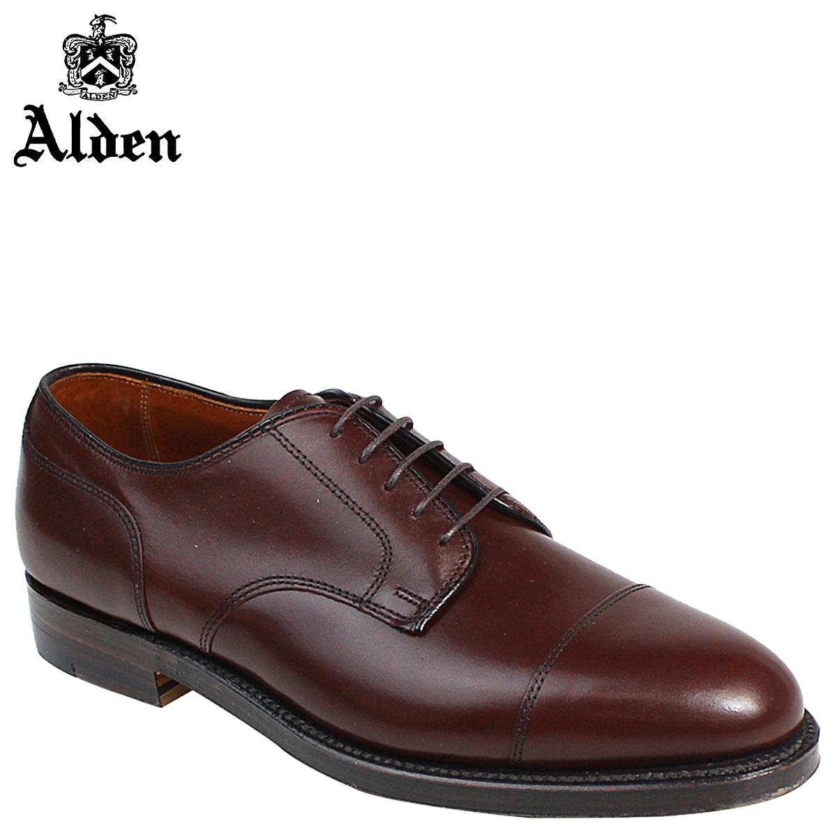 ALDEN オールデン シューズ STRAIGHT TIP BLUCHER Dワイズ 972 メンズ