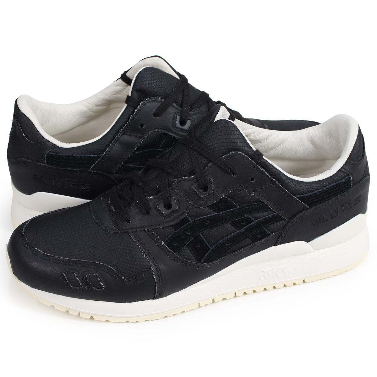 huge discount 9ac6c 8f264 asics Tiger GEL-LYTE III ASICS tiger gel light 3 sneakers H842N-9090 men  black