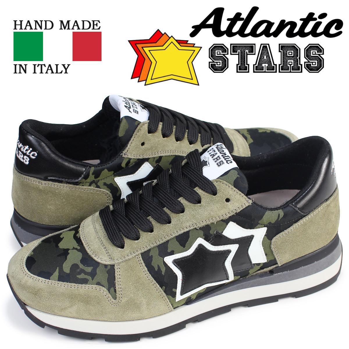 Atlantic STARS SIRIUS メンズ スニーカー アトランティックスターズ シリウス TM3 81N 靴 カモ [予約商品 4/5頃入荷予定 再入荷]