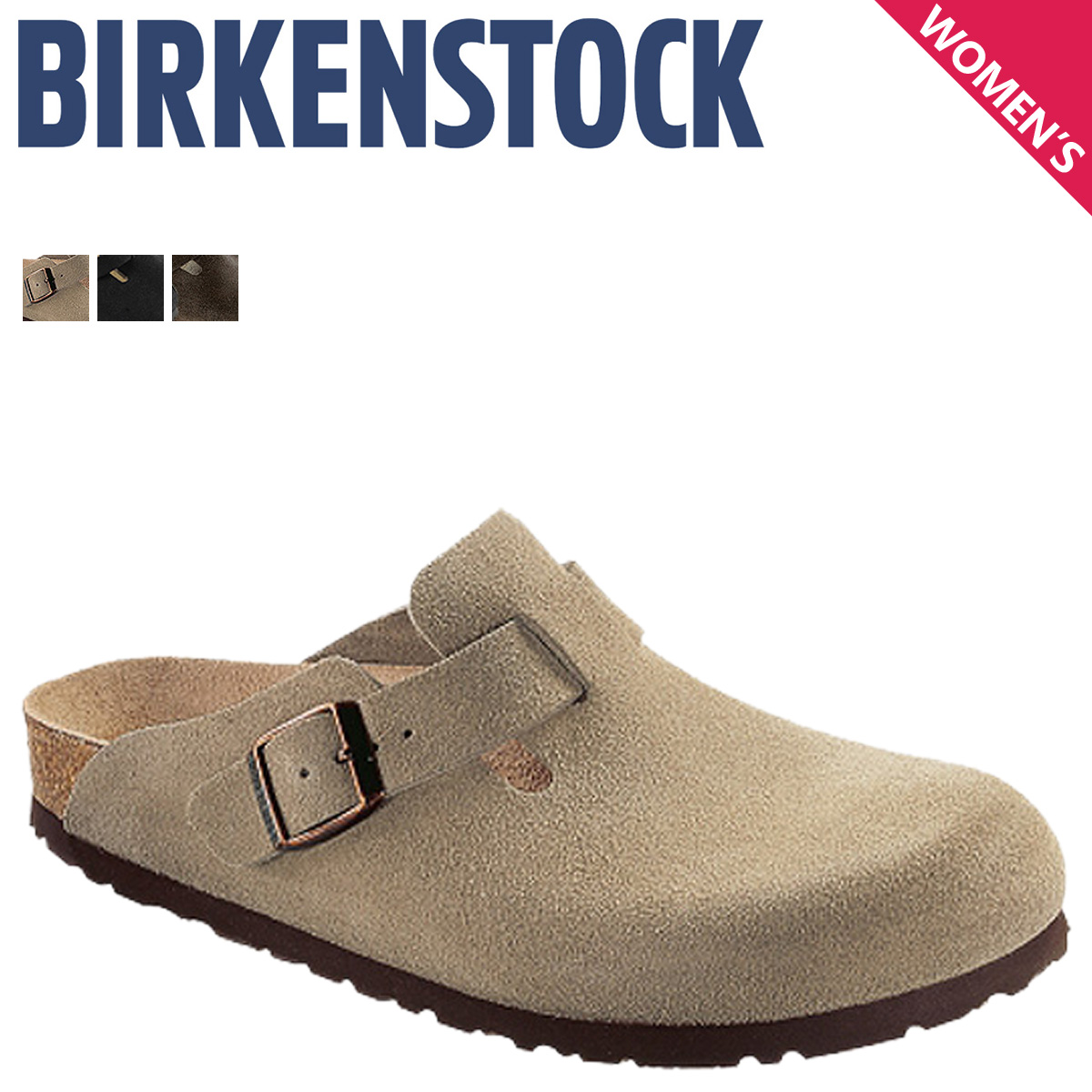 471372dc618 BIRKENSTOCK Birkenstock Boston women s Bilkent Sandals narrow width BOSTON