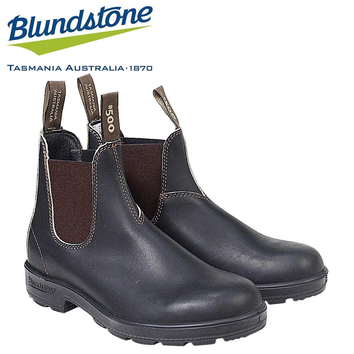 Blundstone DRESS V CUT BOOTS ブランドストーン サイドゴア メンズ 500 ブーツ ブラウン [5/16 追加入荷]
