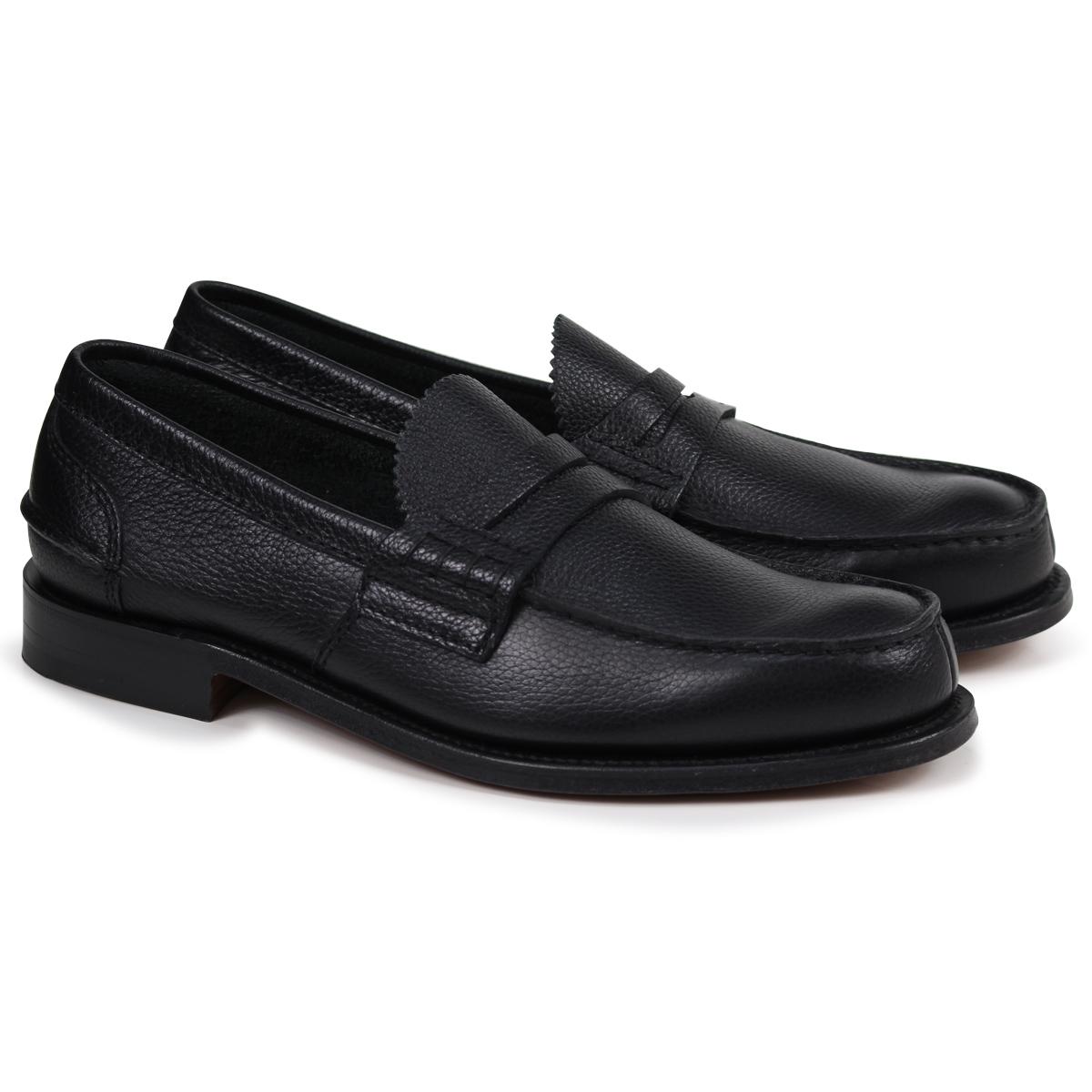 Church's PEMBREY LOAFERS チャーチ 靴 ローファー メンズ ブラック EDB003