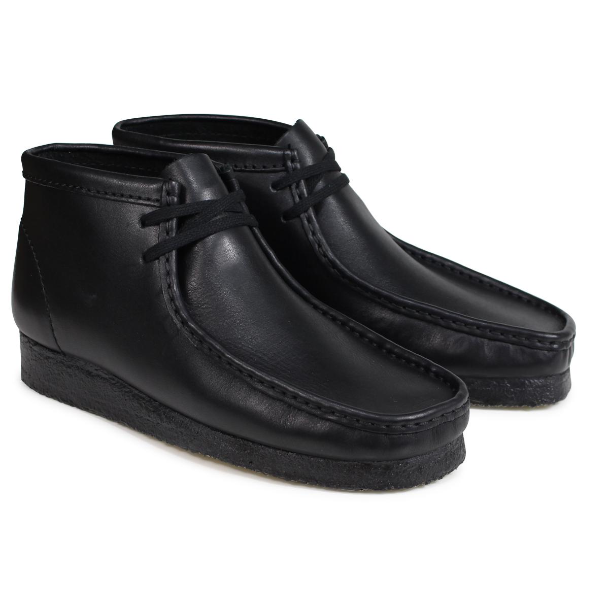 Clarks Originals WALLABEE BOOT クラークス ワラビー ブーツ メンズ オリジナルズ Mワイズ 26103666 ブラック