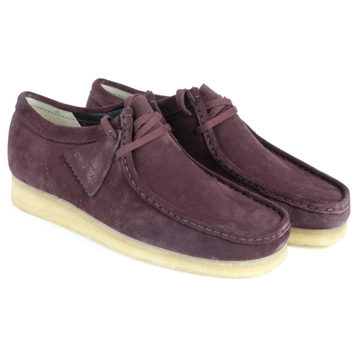 Clarks WALLABEE ワラビー ブーツ メンズ クラークス 26128510 靴 バーガンディー