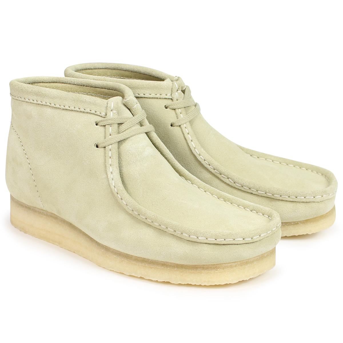 Clarks WALLABEE BOOT クラークス ワラビー ブーツ メンズ 26133283 メープル