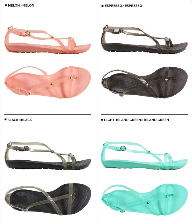 crocs鐘表女士扒手阿裏性感提板涼鞋REALLY SEXI FLIP SANDAL交叉燈B太陽14175 4彩色