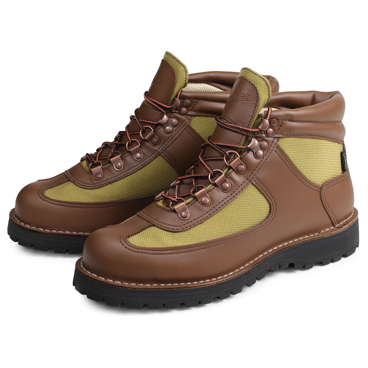 Danner FEATHER LIGHT REVIVAL ダナー フェザーライト ブーツ メンズ MADE IN USA EEワイズ ブラウン 30125