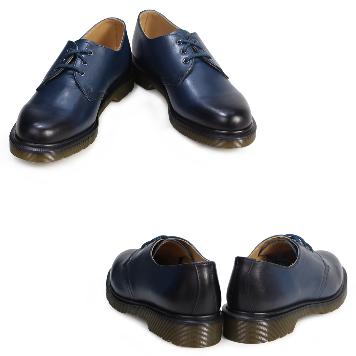 Dr Martens Unisex 1461 Sea Blue Antique 22158472 Shoes Uk10
