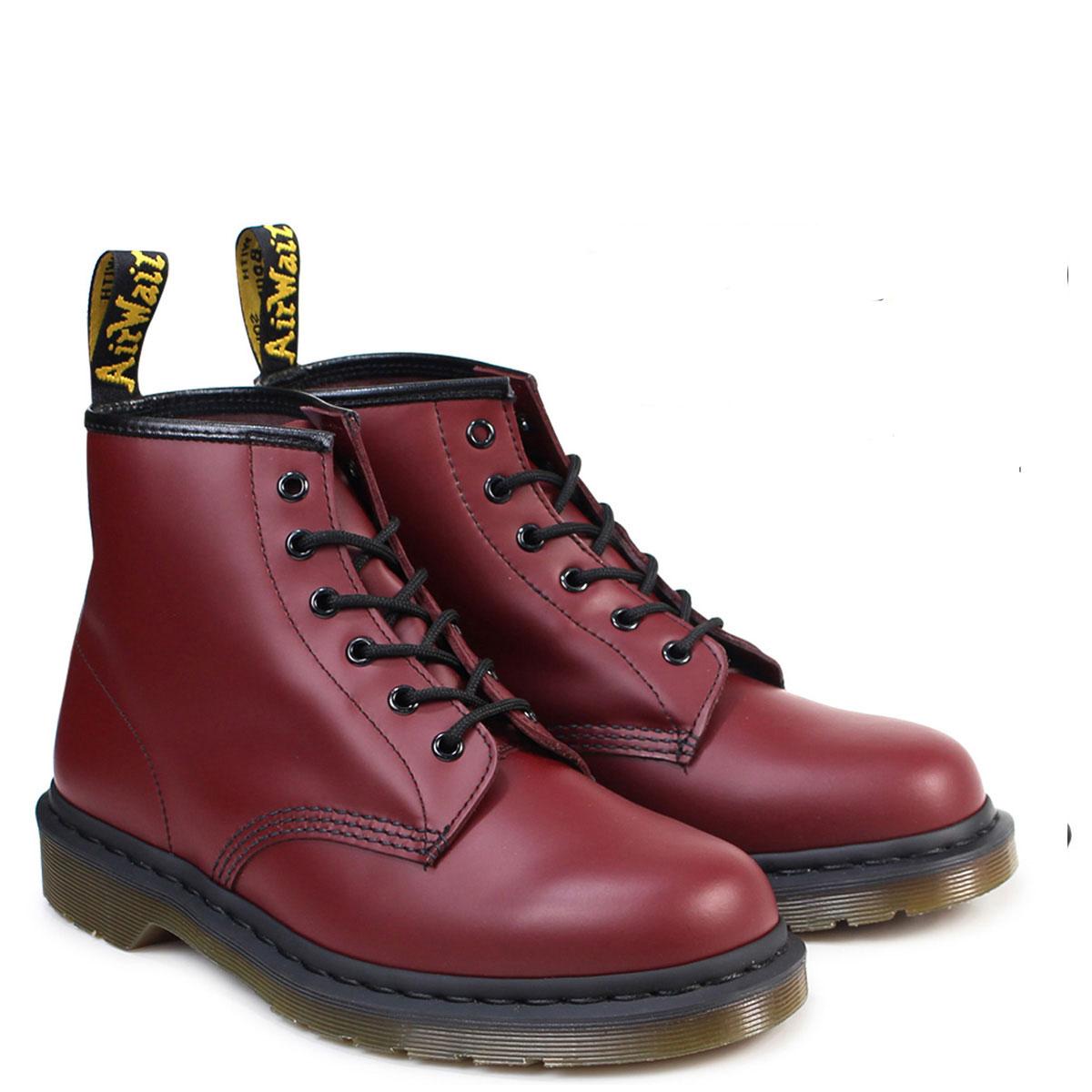 Dr.Martens 6EYE BOOT R10064600 6ホール メンズ レディース ドクターマーチン 101 ブーツ チェリーレッド