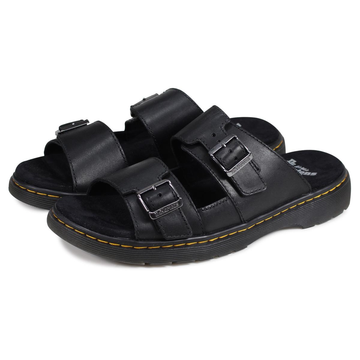 【決算SALE】 Dr.Martens NIKOLAI ドクターマーチン サンダル ニコライ ストラップ メンズ レディース ブラック 黒 R24413001