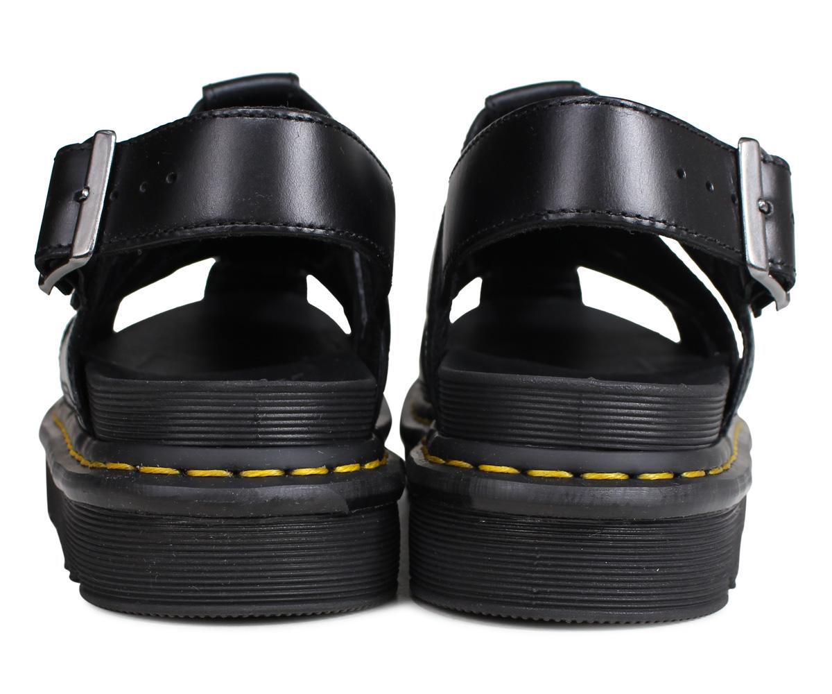 meet excellent quality big sale Dr.Martens ABEL doctor Martin sandals Abel fisherman men gap Dis black  black R24522001