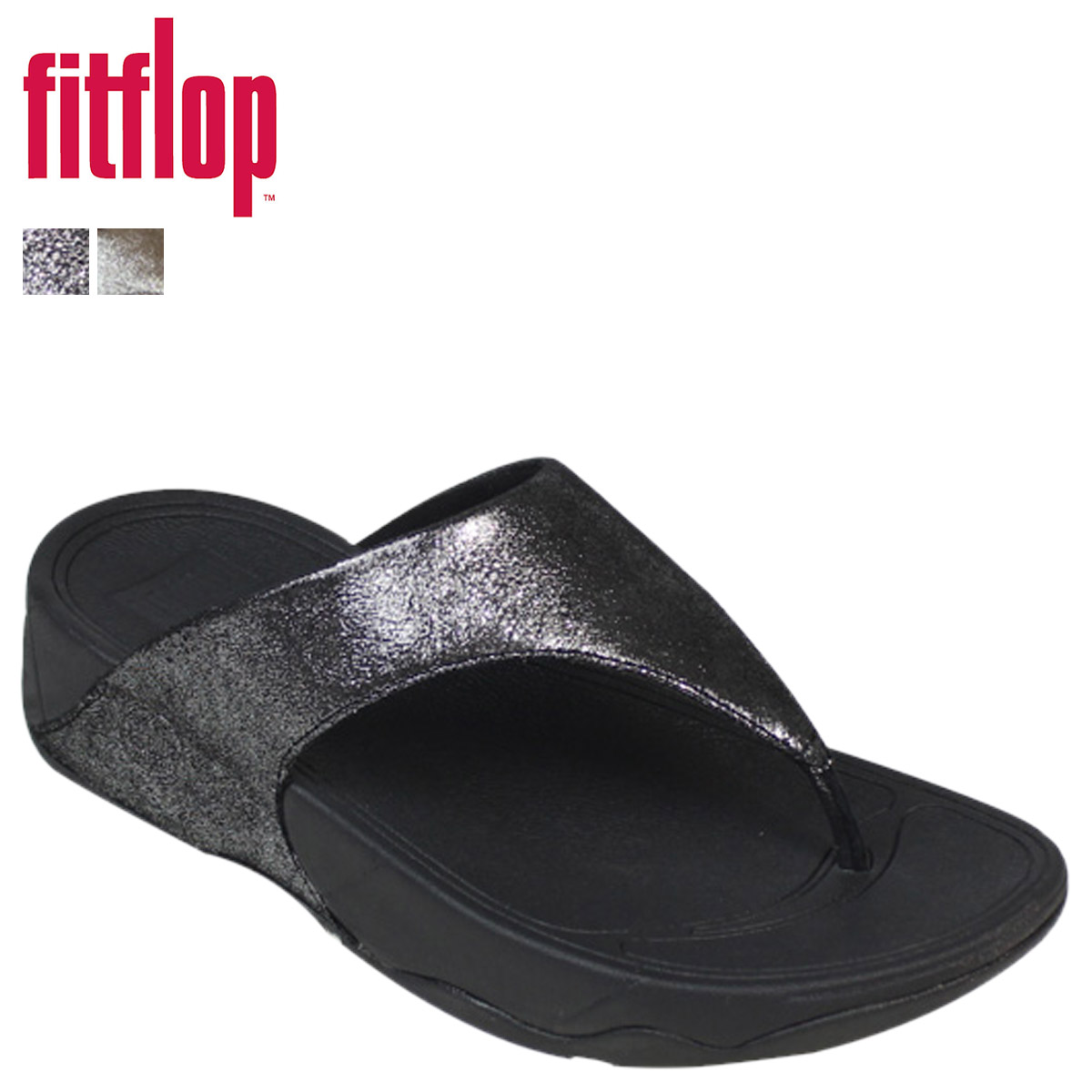 Fitflop Fit Flop Lulu Lulu Shimmer Suede 505 Womens Sandals