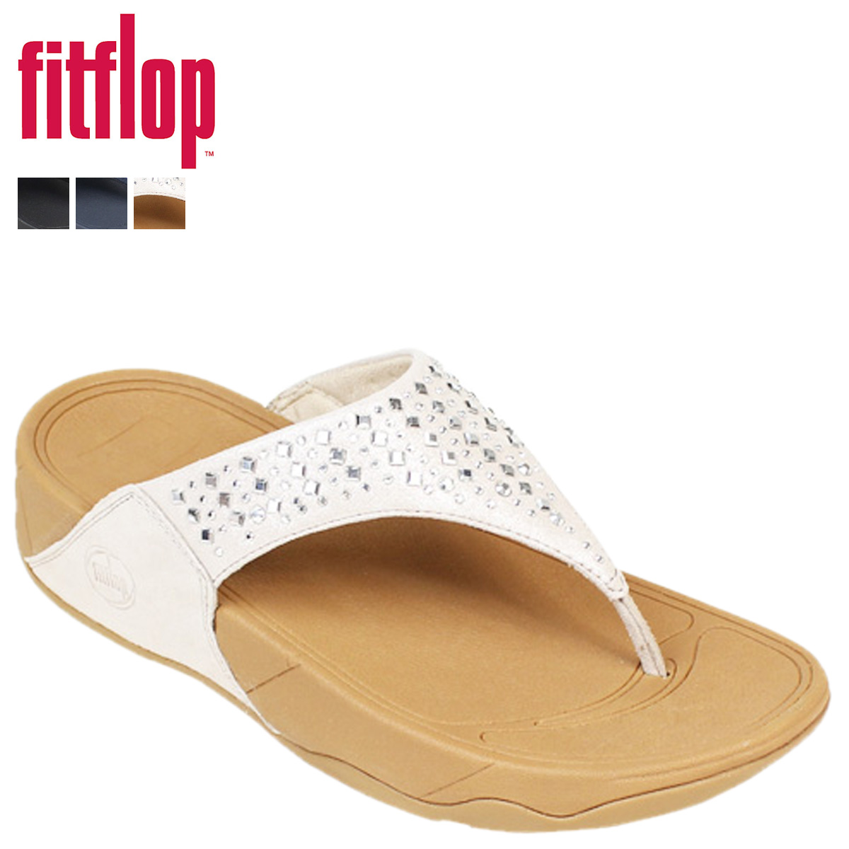 d350f7075bb2d Whats up Sports  FitFlop fit flop Nobby Sandals 507 NOVY SHIMMER ...