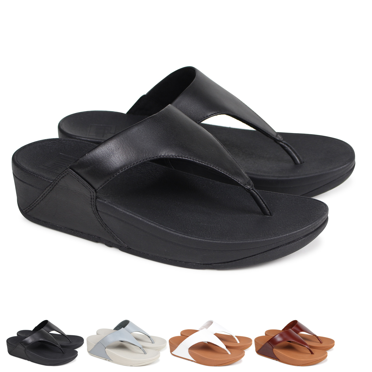 6260063a95ecb1 Whats up Sports  FitFlop LULU LEATHER TOE POST SANDALS sandals ...