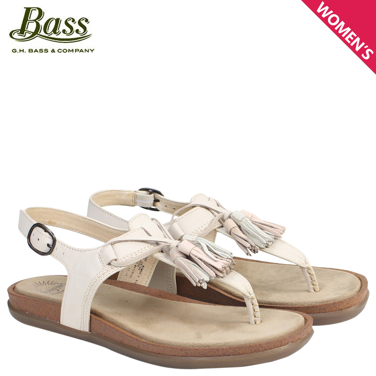 0547449e419 Whats up Sports  G.H. BASS sandals lady s G H bus tong T-strap SADIE  T-STRAP SUNJUNS 71-23