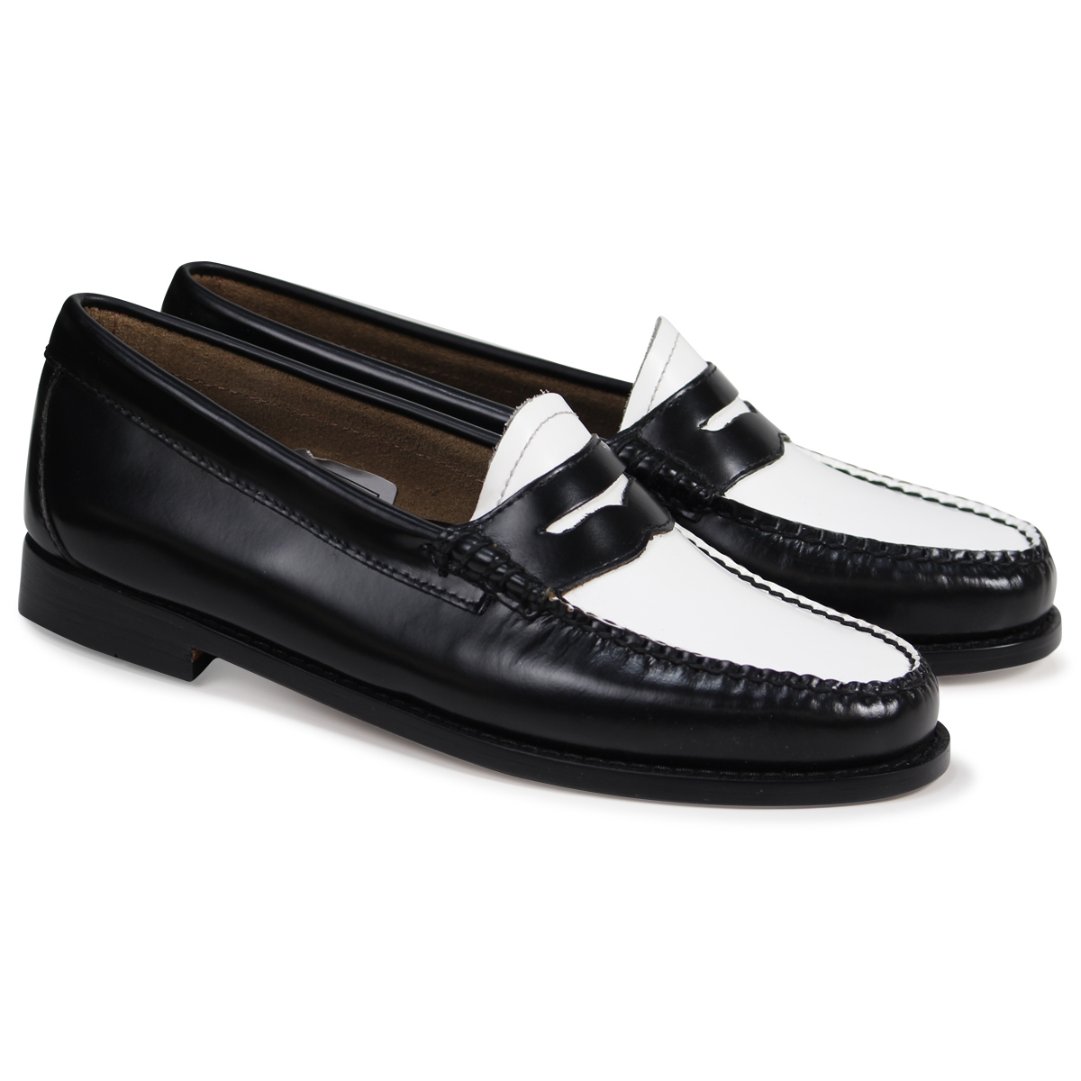 f71e4144583 G.H. BASS WEEJUNS PENNY LOAFERS ローファージーエイチバスレディース BA41010-001 black  load  planned Shinnyu load in reservation product 3 1 containing
