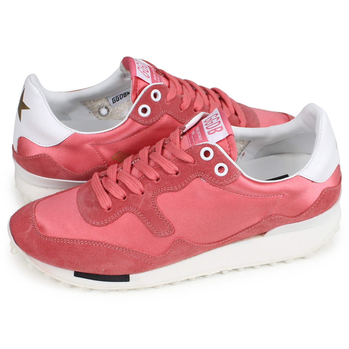 37c9d4dcd6 Golden Goose STARLAND golden goose sneakers Lady's star land SNEAKERS red  G33WS456 E6