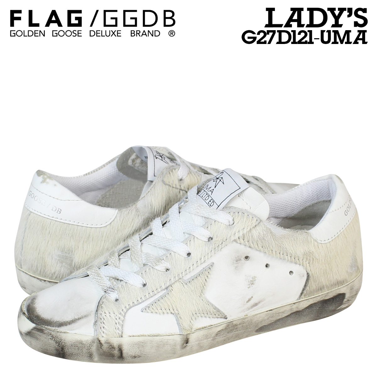 91b692ce8007 Whats up Sports  Golden Goose this sneaker women s SUPER STAR LIMITED  EDITION made in Italy G27D121 UMA shoes white