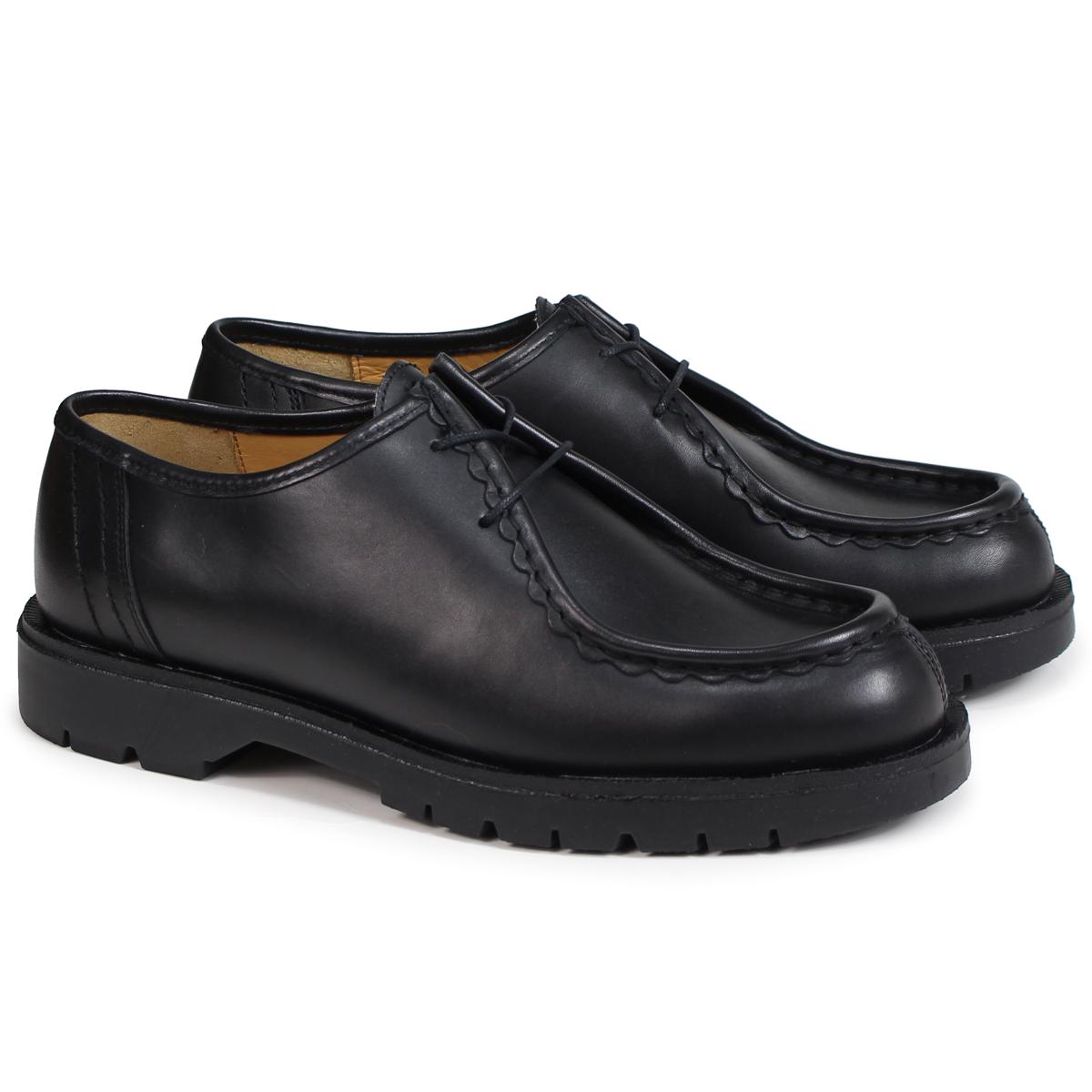 KLEMAN PADROR クレマン 靴 チロリアン シューズ メンズ TYROLEAN SHOES ブラック VA72102 [4/3 再入荷]