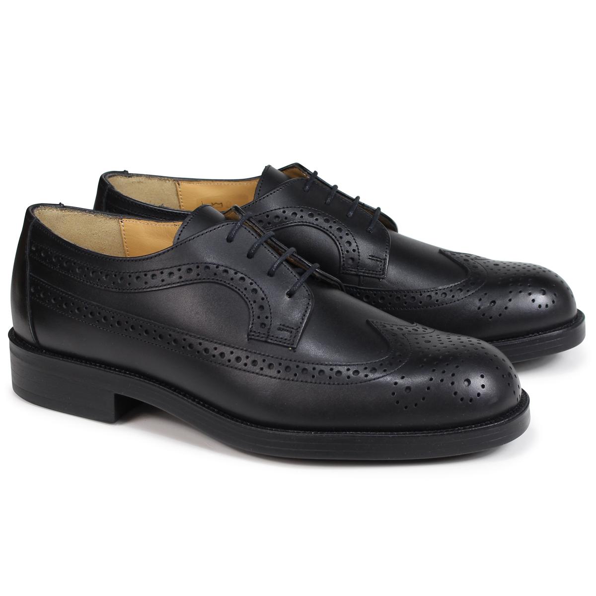 KLEMAN SUFOLO WING TIP SHOES クレマン 靴 ウイングチップ シューズ メンズ ブラック VA75102 [4/3 追加入荷]